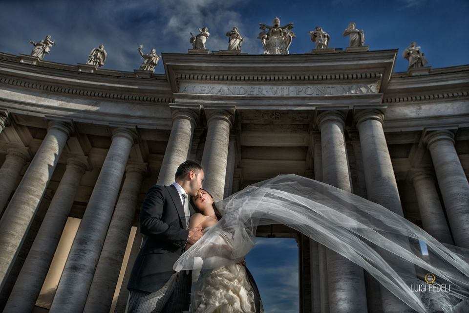 photo post wedding roma